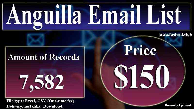 Anguilla Email List